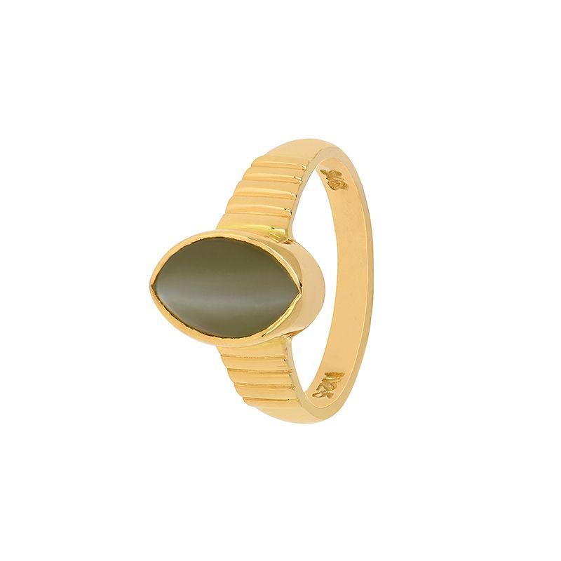 22k Gold Cat's Eye Gold Ring