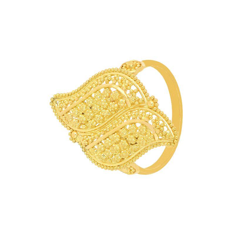22k Gold Fancy Gold Ring