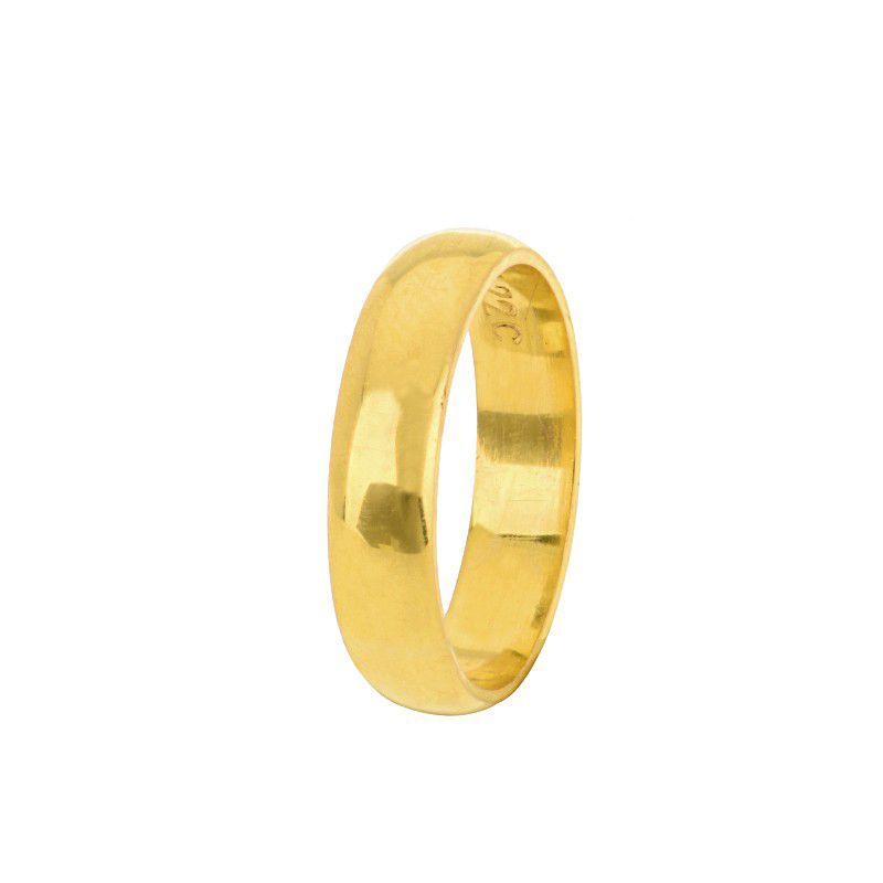 22k Gold Unisex Wedding Band