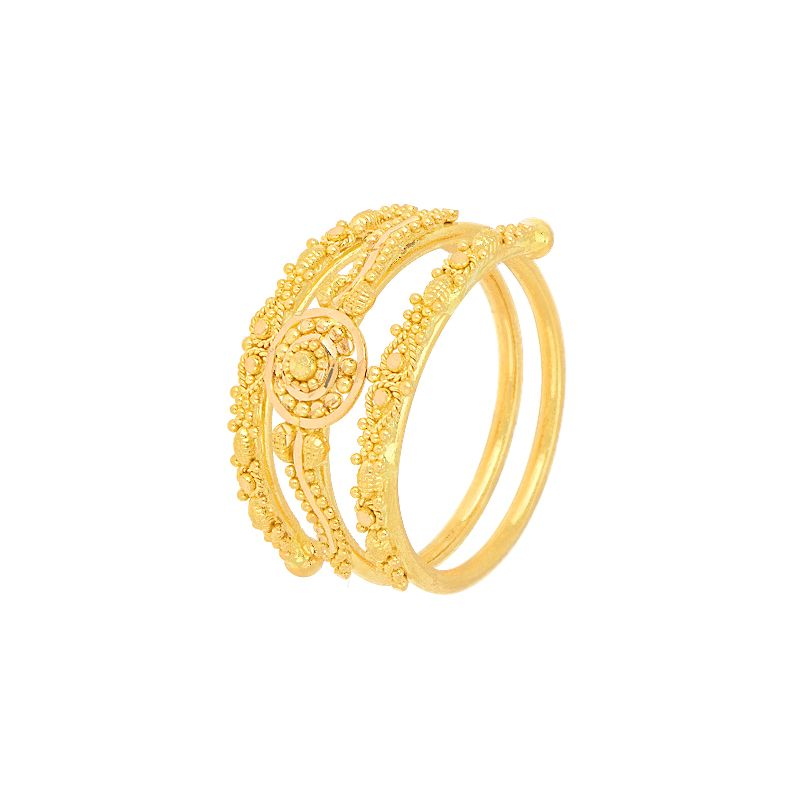 22k Gold Gold Wrap Filigree Ring