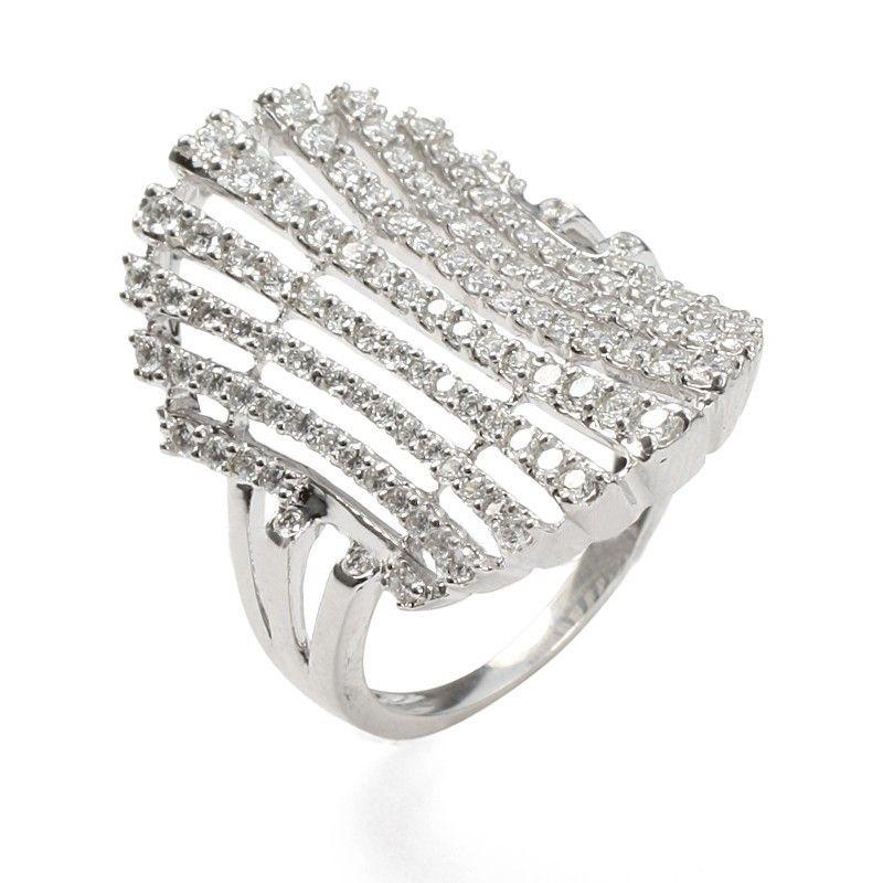 18k Diamond Stunner Cocktail Ring