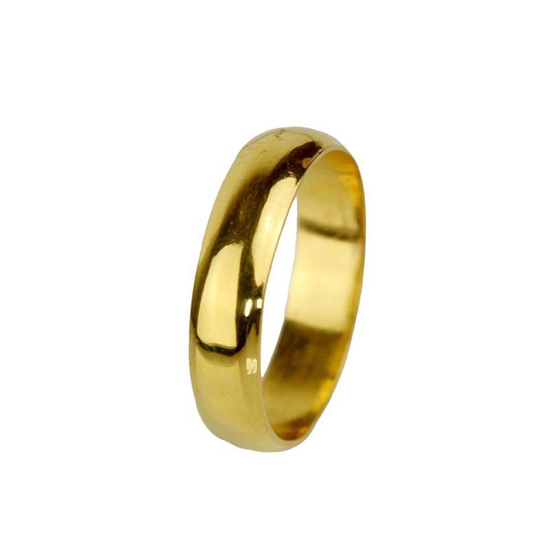 22k Gold Plain Gold Wedding  Band