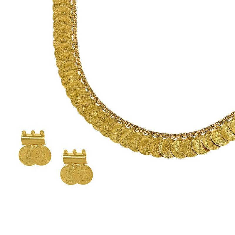 22k Gold 2-in-1 Reversible Kasulaperu
