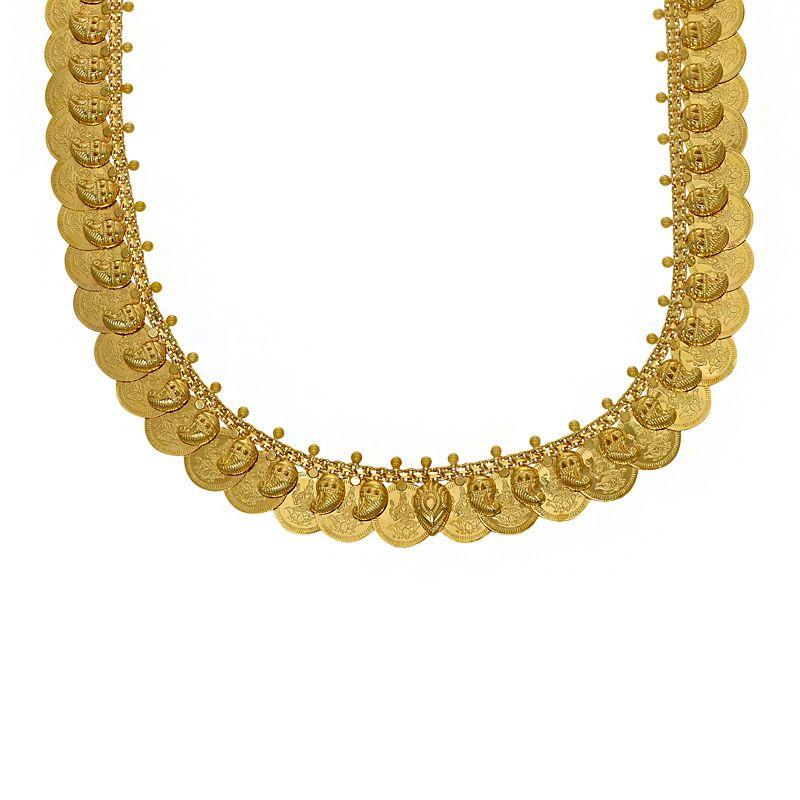 22k Gold 2-in-1 Reversible Kasu Haram