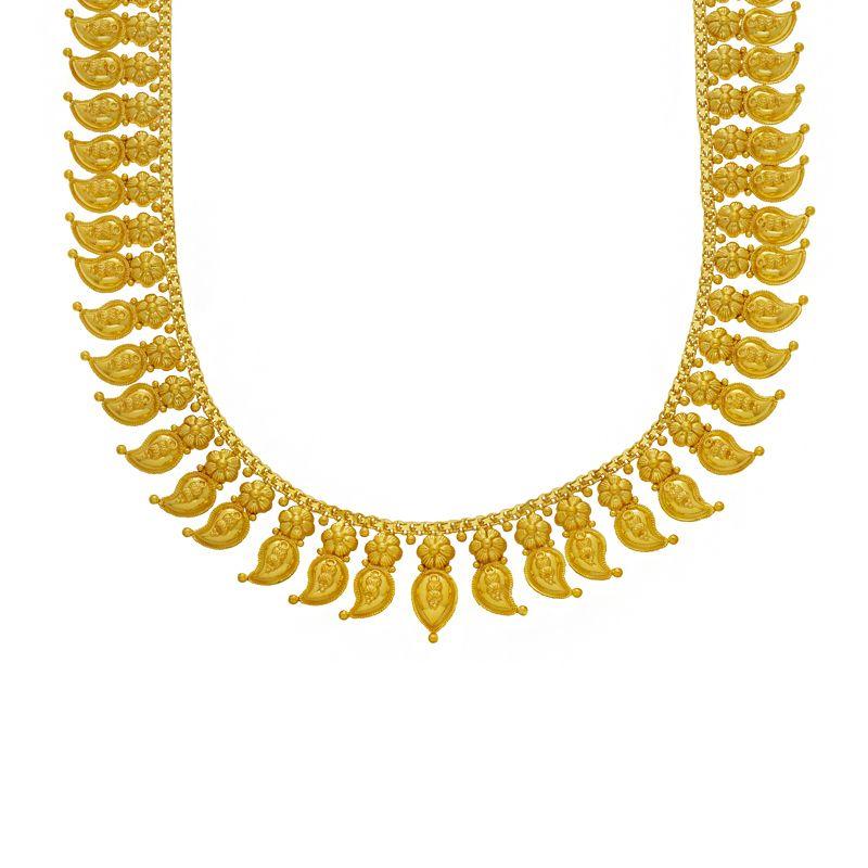 22k Gold Long 2-in-1 Mango Mala