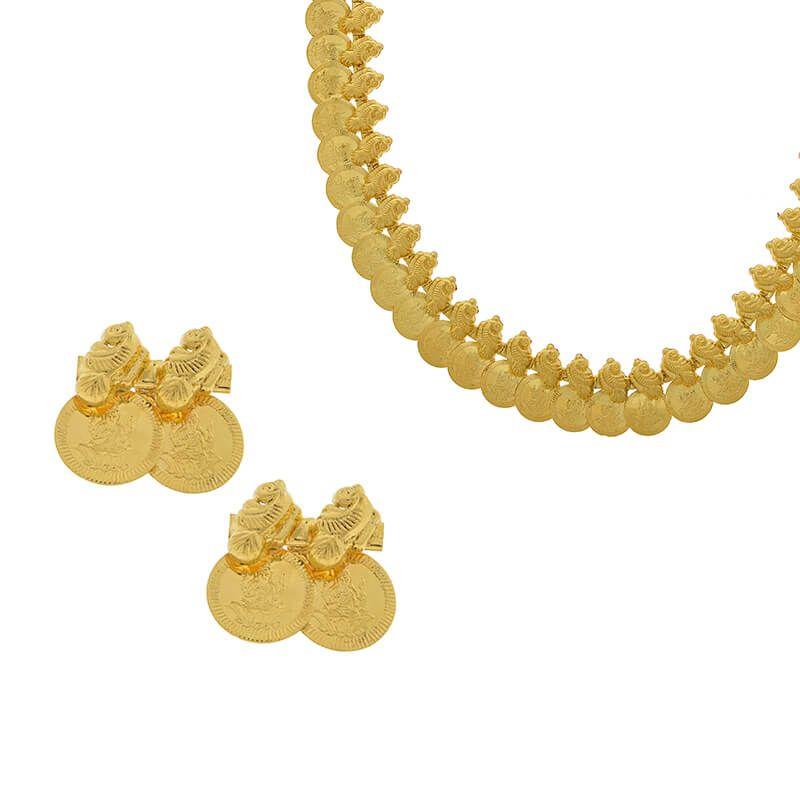 22k Gold Long Yellow Gold Kasulaperu