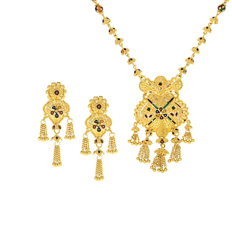 22k Gold Kashish Dokyia Necklace