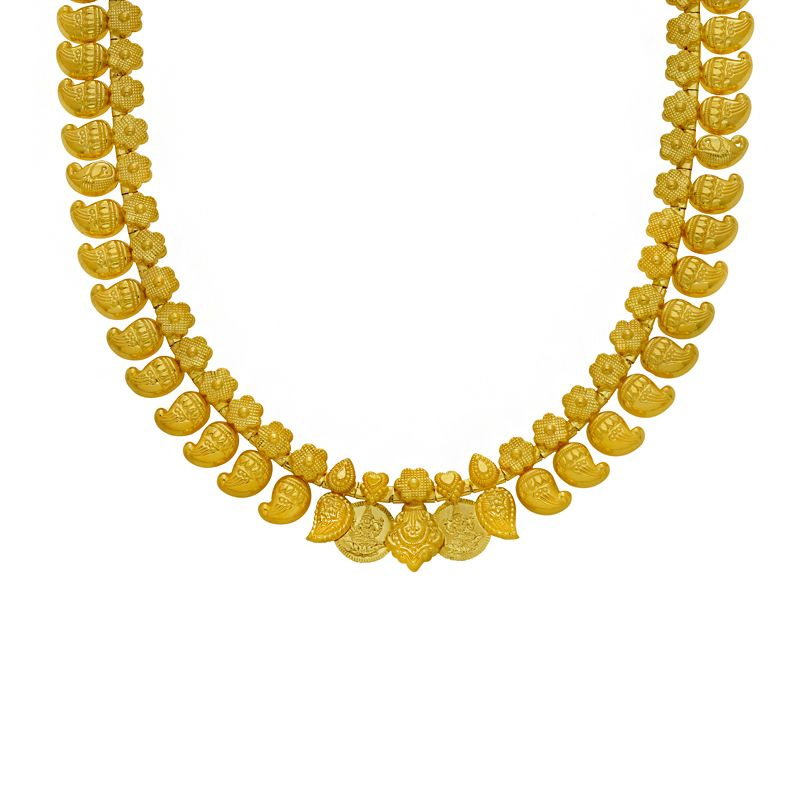 22k Gold Long 2-in-1 Mango Haram