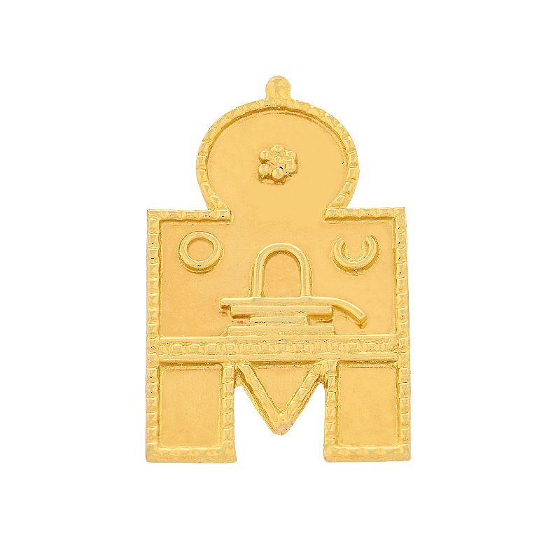 22k Gold 2 Leg Lingam Thali