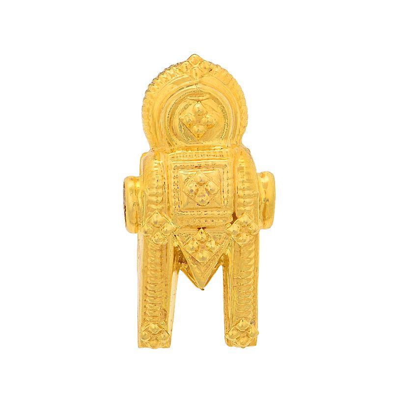 22k Gold Reversible Thoppa Thali