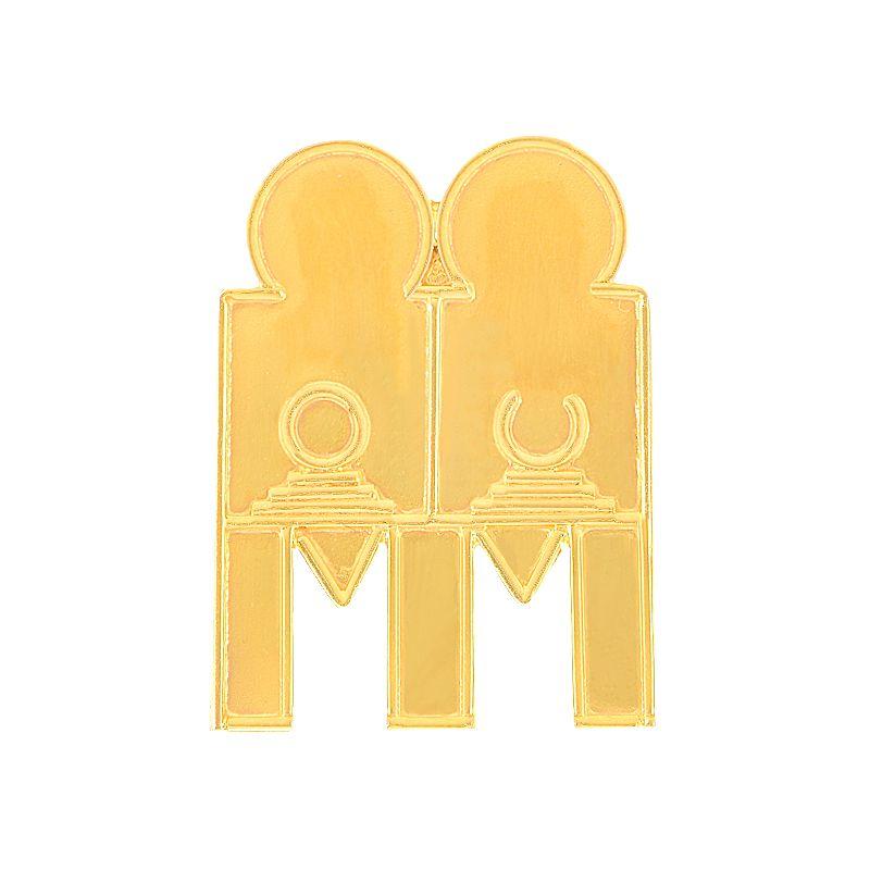 22k Gold 3 Leg Sun Moon Thali