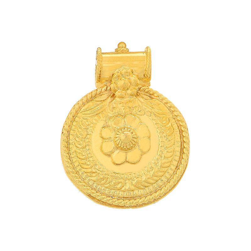 22k Gold Nagishi Pustelu Thali