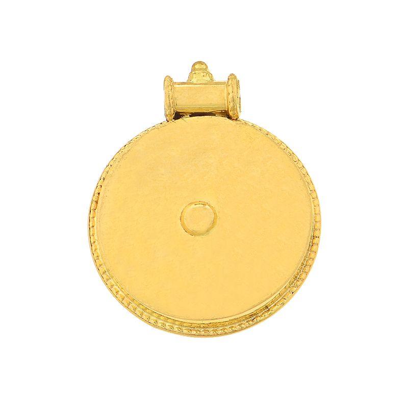 22k Gold Andhra Gold Pottu Pendant