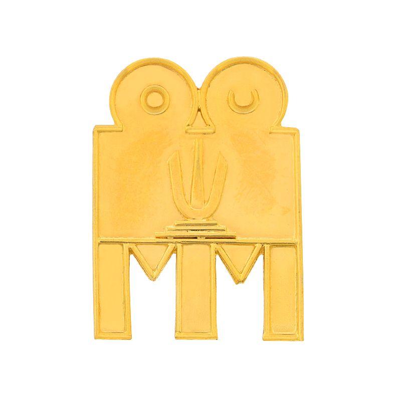 22k Gold 3 Leg Namam Thali Pendant