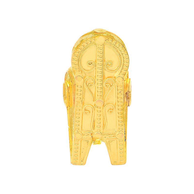 22k Gold Large Akkarai Thali Pendant