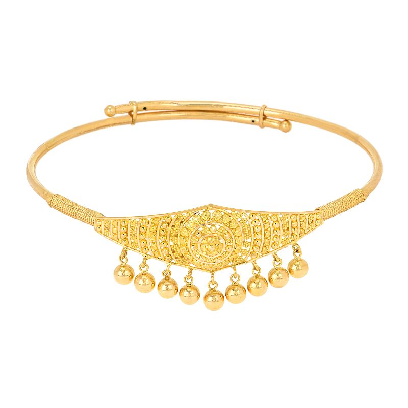 22k Gold Golden Drops Filigree Armlet