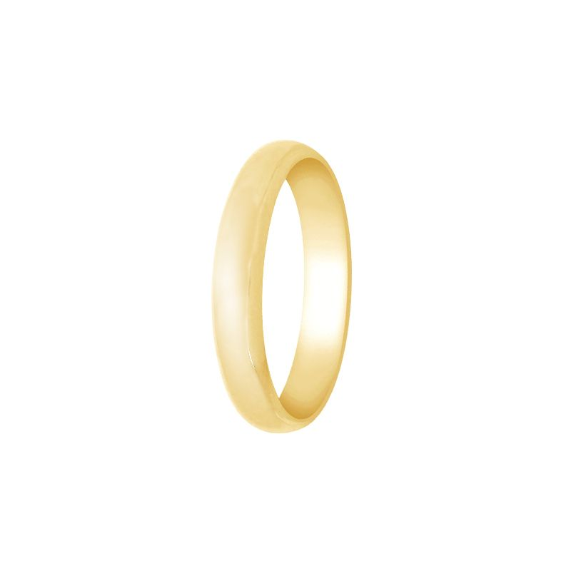 22k Gold Comfort Fit Light Weight Band