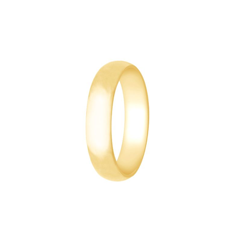 22k Gold Comfort Fit Wedding Band