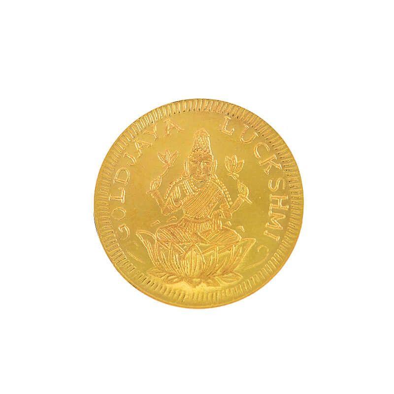 22k Gold Lakshmi Kasu Gold Coin
