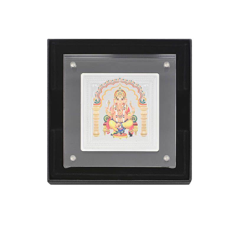 0.999 Silver Ganesh Pamp Gift - 50G