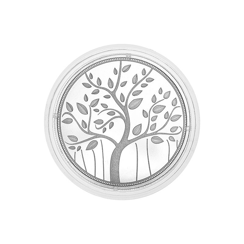 0.999 Silver Banyan Tree Pamp Coin