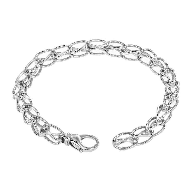 950 Platinum Platinum Spiga Bracelet