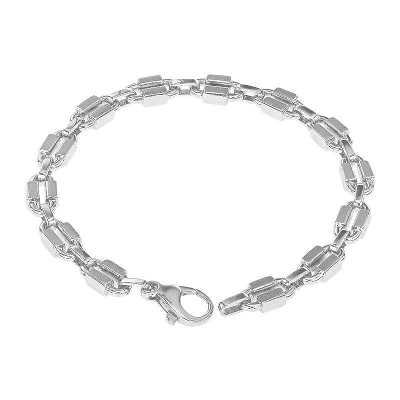 950 Platinum Platinum Oval Links Bracelet