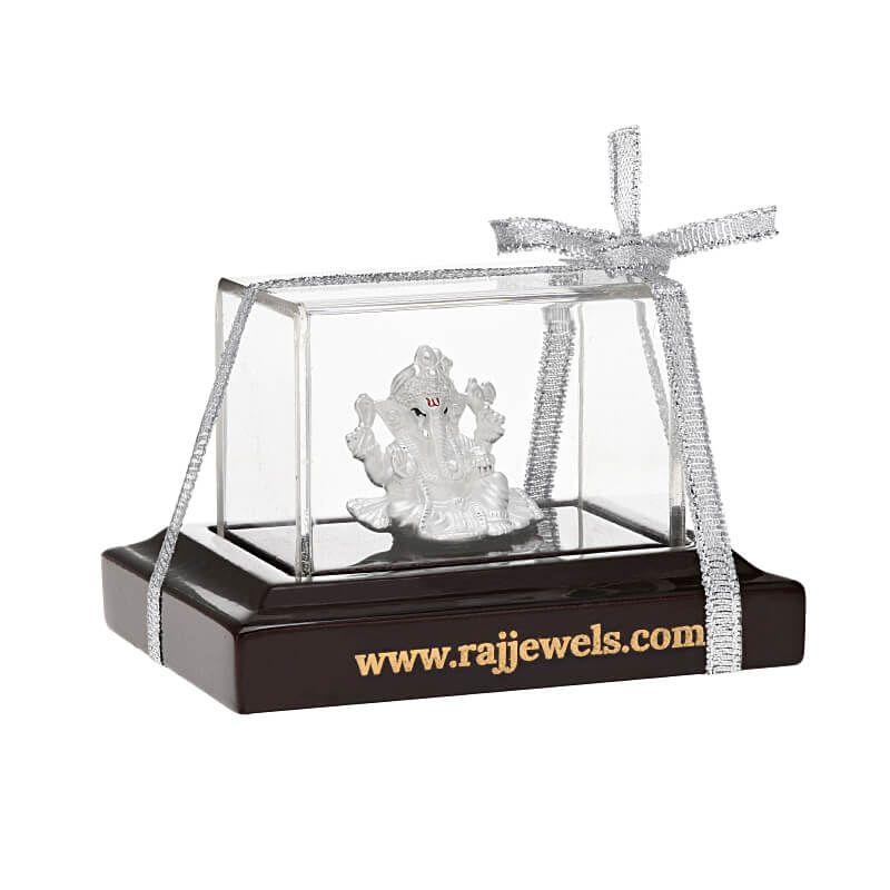 0.999 Silver Small Silver Ganesha Murti