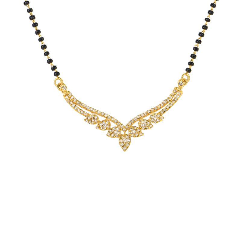 22k Diamond Stunner Diamond Mangalsutra