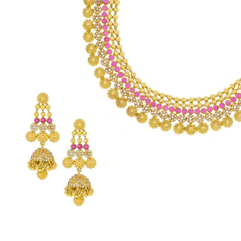 22k Diamond Australian Diamonds Collar Necklace