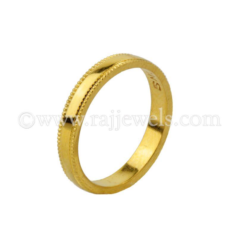22k Gold Size 7 Men's band