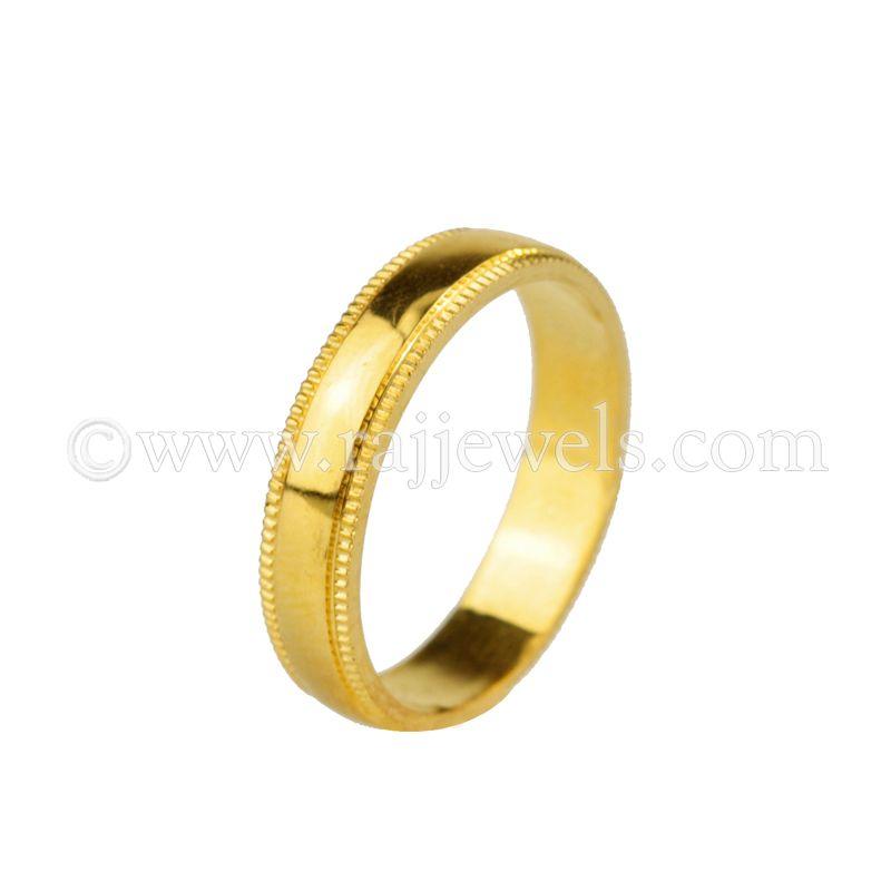22k Gold Yellow Gold Band