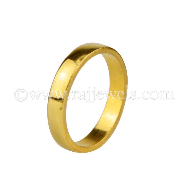 22k Gold Elegant Love band