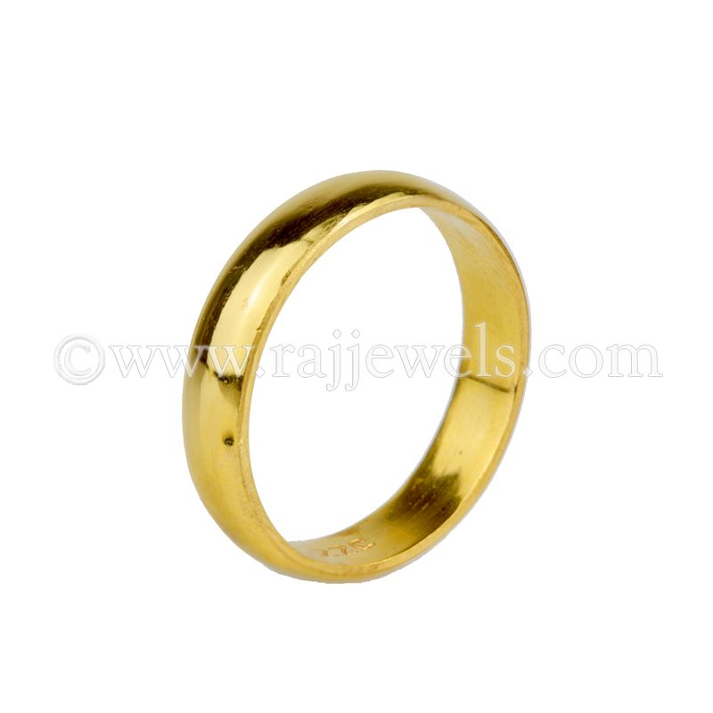 22k Gold Size 9 Yellow Gold band