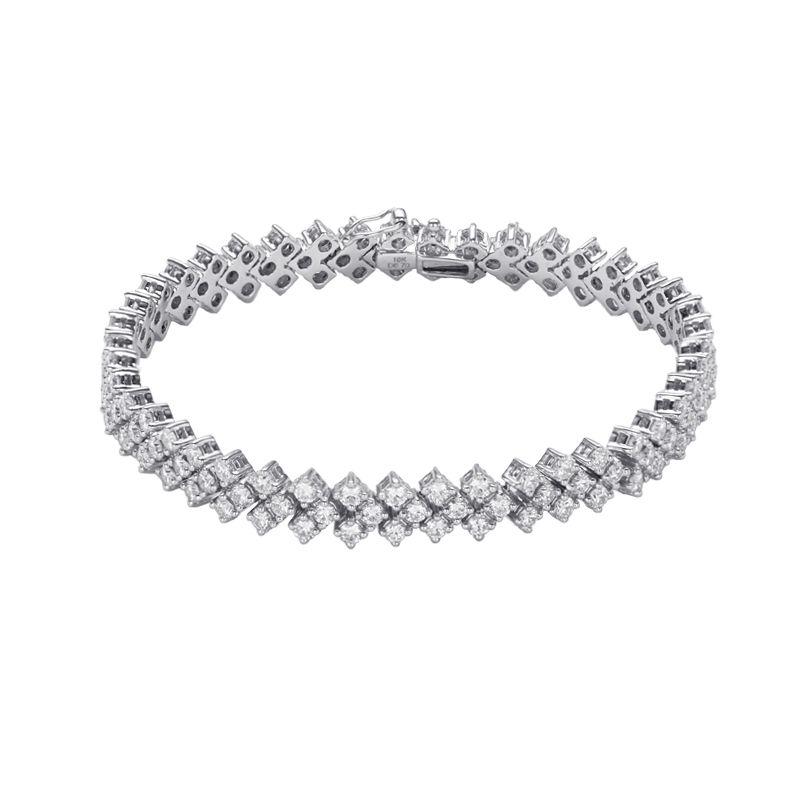 18k Diamond Diamond Arrow Bracelet