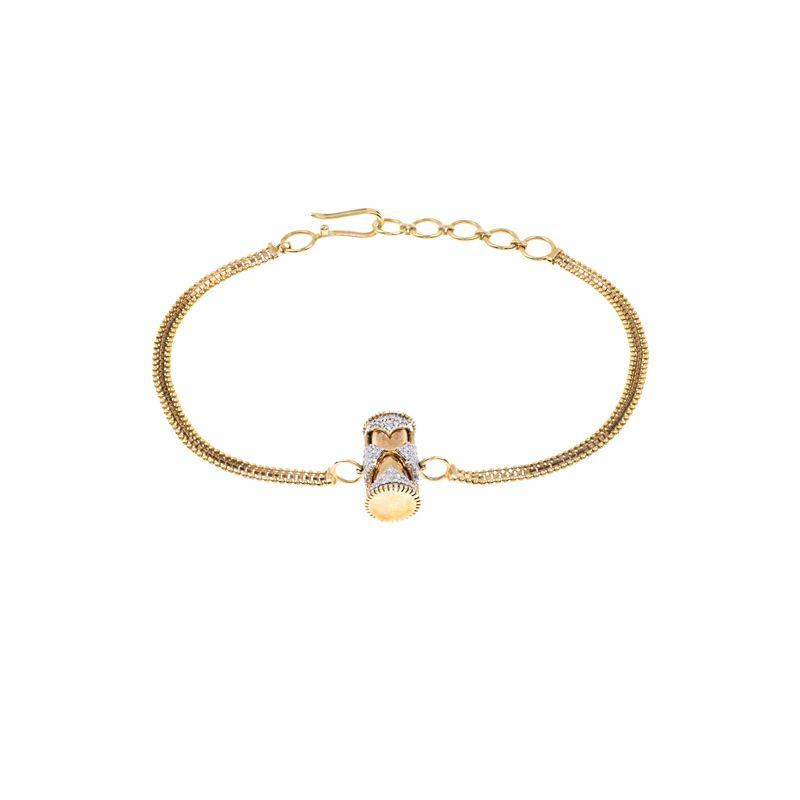 18k Diamond Raksha Potli Diamond Bracelet