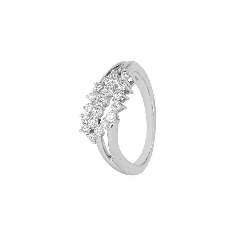 18k Diamond Gliterrati Diamond Ring