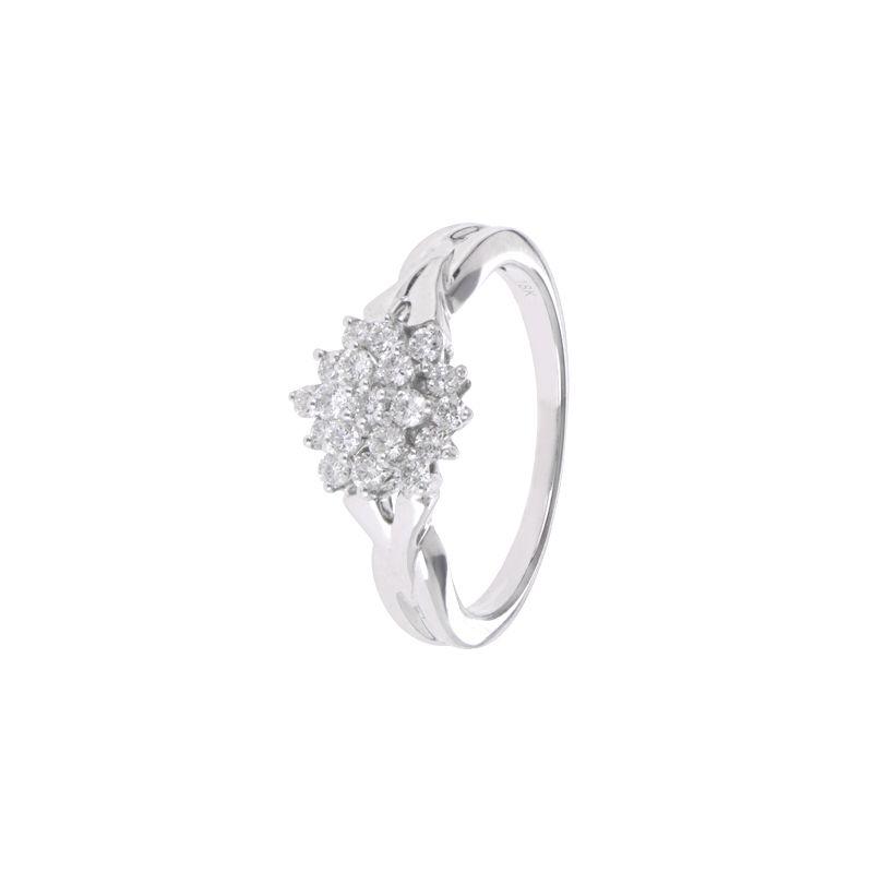 18k Diamond 18K Cluster Diva