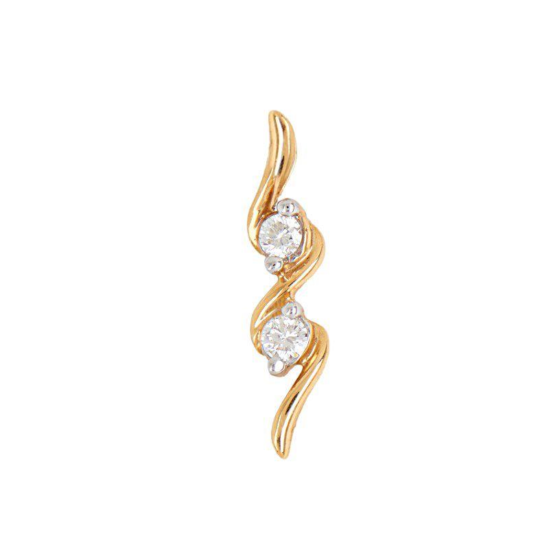 18k Diamond Eleganta Diamond Pendant