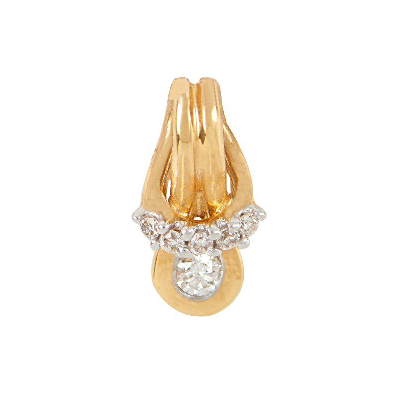 18k Diamond Diamond Riviera Pendant