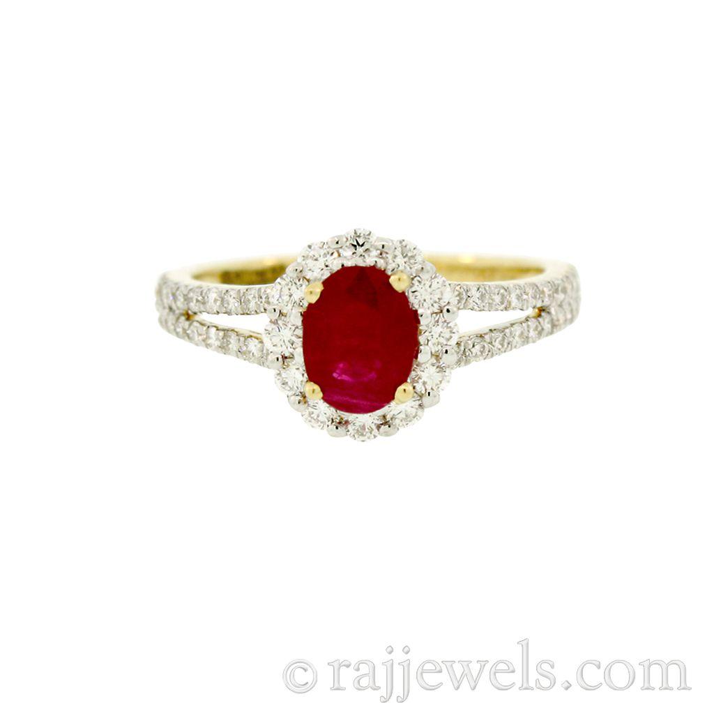 18k Diamond 18K Yellow Gold Diamond Ring