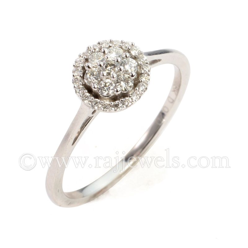 18k Diamond Mini Elegant Diamond Ring