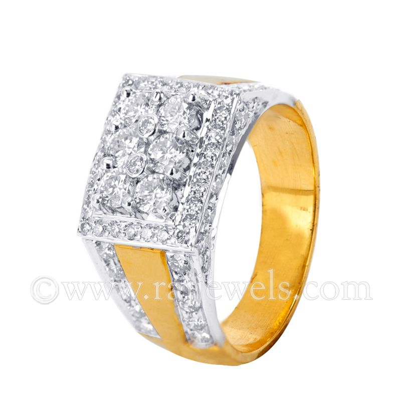 18k Diamond Blizz Diamond Ring