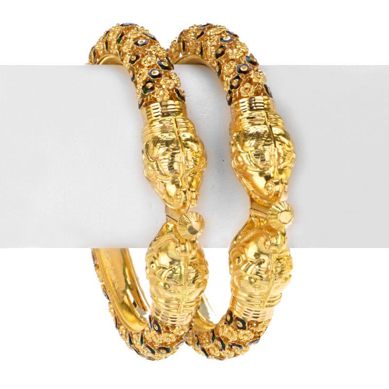 22k Gold Khalish Gold Kadas