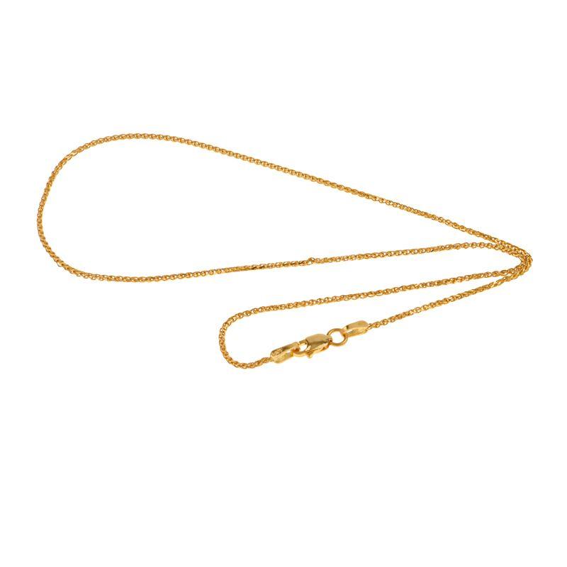22k Gold Parisian Wheat Chain - 22
