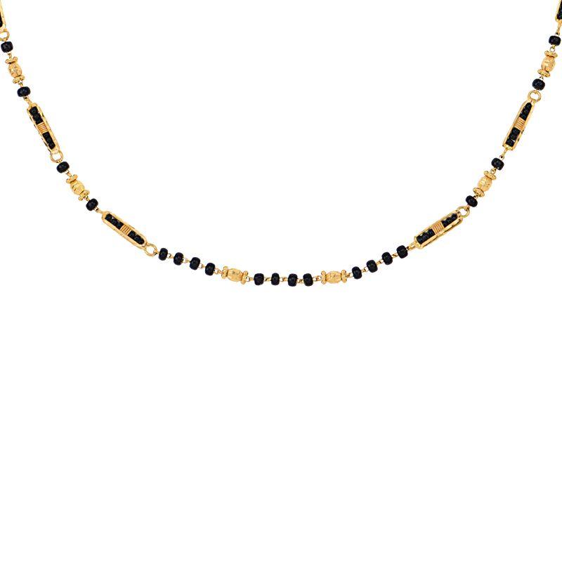 22k Gold Long Mangalsutra Chain