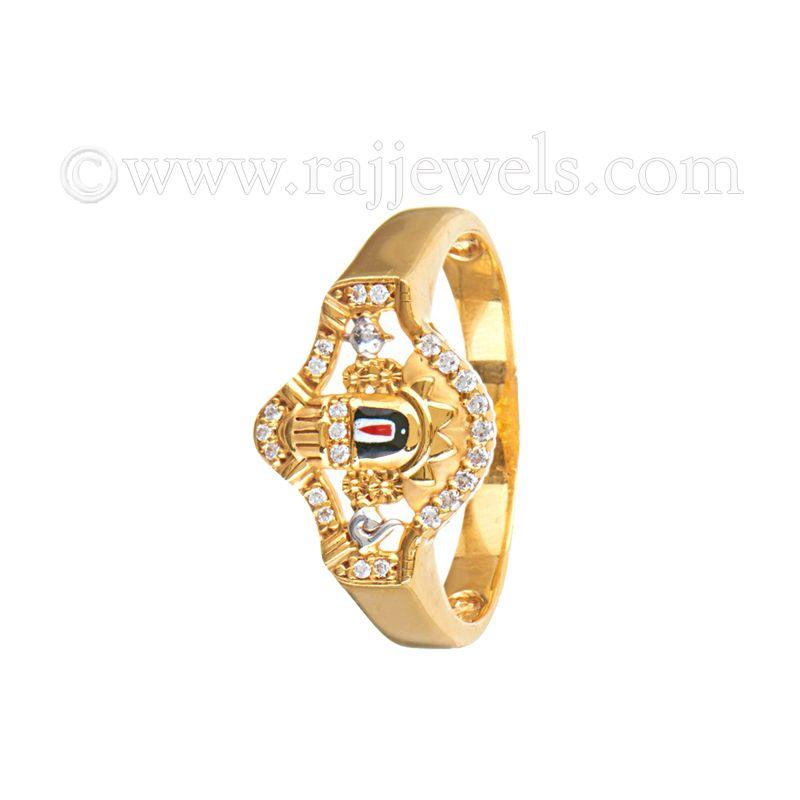 22k Gold Tirupati Balaji Gold Ring