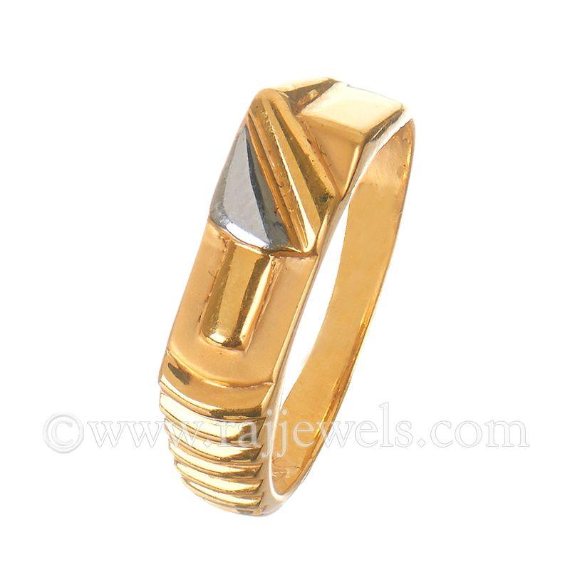 22k Gold 22K Gold Men's Ring