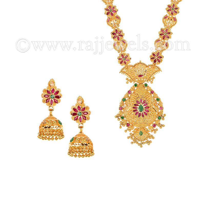 22k Gold Mitalia Gems Gold Necklace
