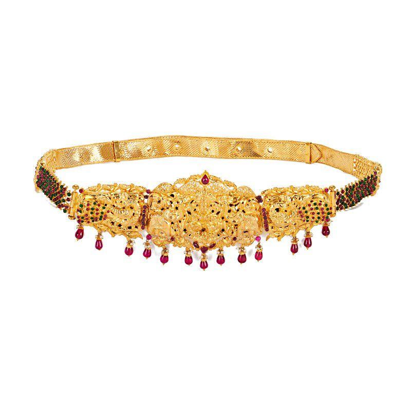 22k Gold Mani Lakshmi Vaddanam